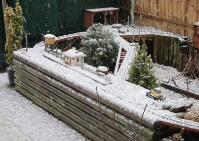 Snow on the Lydiate Line 2015